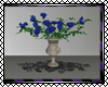 MM Rose Vase Blue