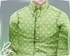 Green Pattern Shirt