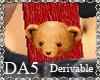(A) Bear Scarf M