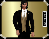 CTG BLACK SUIT/GOLD VEST