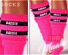 $ Baddie - Pink Socks