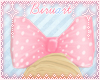 [BA] Pink Polka Bow~