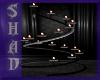 {SP}Black Spiral Candles