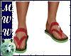 Melon Sandals