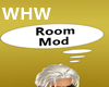 [WHW] Room mod sign