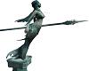 Atlantis Mermaid statue