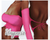 Kivie Flare Top - Pink