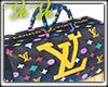 LV Colorful Duffle Bag