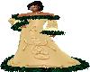 Gold Flake Winter Dress2