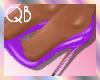 Q~*Purple Heels*