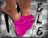 [Ele]CHERRYPIE Pink Heel