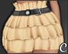 !© Ruffled Skirt Cream