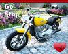 Mm Motorcycle Yellow