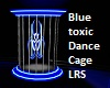 Blue Toxic Dance Cage