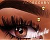 $ Eyebrow Piercing -Gold