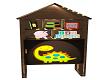 Dino Toy Shelf
