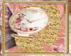 Watch pink gold papillon