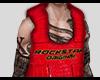 red alligator vest
