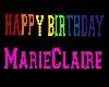MarieClaire BirthdayBann