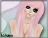 castru hair ; pink ombre