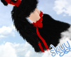 Fuzzy Neko Tail Black