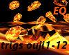 EQ fire floor DJ light