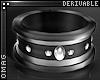 0 | Steel & Gem Ring LF