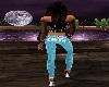 Kris Teal Club Jeans