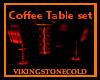 (H) Coffee Table Set