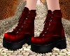 Burgundy Boots V2