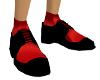Mafia Black&Red Shoe