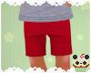 +Kids Fireman Red Shorts