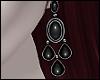 \/ Onyx Earrings