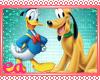 ea- Donald Duck & Pluto