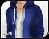 A| Blue Hoodie