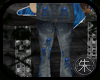 Blue Skull jeans