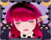 FOX Pink bang hair