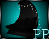 Black Lace Cuddle Chair