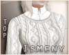 [Is] Sweater Fall White