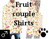 Fruit Couple Shirts Male