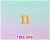 Fo. N Letter Orange