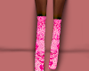 Pink Sequence Heels