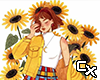 Sunflower Girl Cutout v1