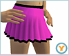 Short Pink Pleated Skirt