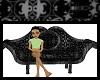 Black Goth Sofa