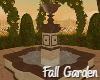 Fall Garden Fountain