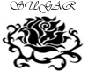 (S)Black Rose Bed