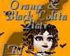 Black & Orange Lolita