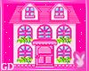 Pink House Purse