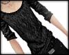 knitted shirt black